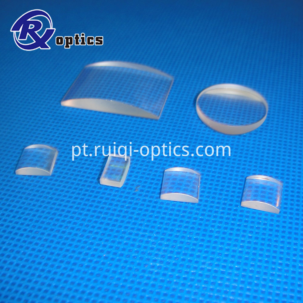 plano convex cylidrical lens