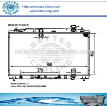 Kfz-Heizkörper für Toyota Camry 07 OEM: 16400-AD010