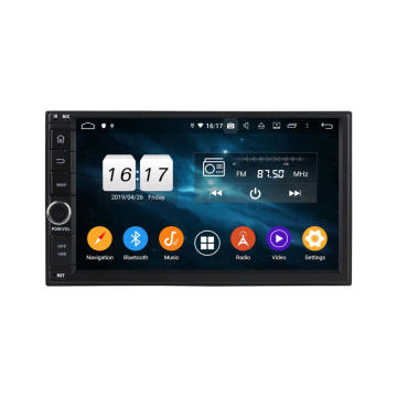 android 9.0 2din universele 7 inch autoradio
