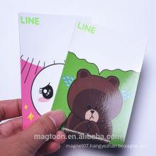 2016 custom cute animal design kids paper fridge magnets& magnet fridge