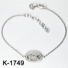 Nueva pulsera de plata de la joyería de la manera de los estilos 925 (K-1749. JPG)