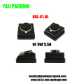 Leatherette PU Black Jewelry Bracelet Dislay Holder (BGL-C1-BL)