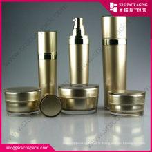 Pots acryliques fanshion pour produits cosmétiques, pots acryliques cosmétiques, pots en acrylique