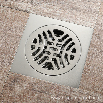Full Copper Bathroom Anti-odor Floor Drain