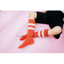 Klassische Streifen Designs Mädchen Baumwolle Strumpf Mädchen Schulkleid Strumpf