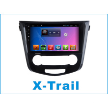 Reproductor de DVD del coche del sistema androide para Nissan X-Trail 10.2 pulgadas de pantalla táctil con Bluetooth / TV / WiFi