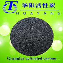 Recuperação de solvente por 900 filtros de carbono ativado com valor de iodo
