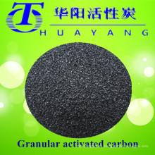 Recuperación de solvente mediante filtro de carbón activo de valor de yodo 900