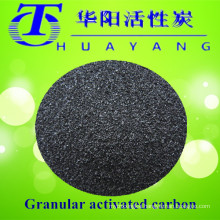 Solvent recovery by 900 iodine value activated carbon filter