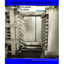 32 cavidades molde de preformas de mascotas con inyección plástica con canal caliente (MELEE MOLD-96)
