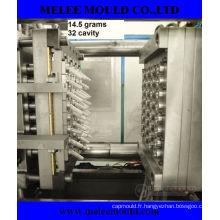 Moule de préforme d'animal familier d'injection de 32 cavités en plastique avec le coureur chaud (MELEE MOLD-96)