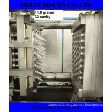 32 Cavities Plastic Injection Pet Preform Mould with Hot Runner (MELEE MOULD-96)