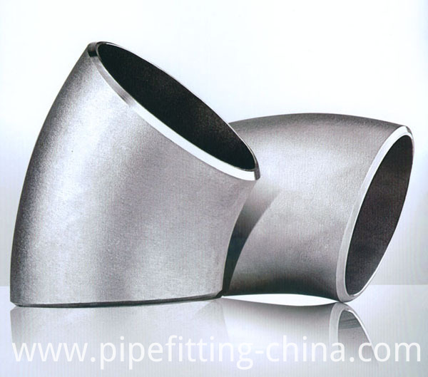 45 Degree LR Stainless Steel Elbow