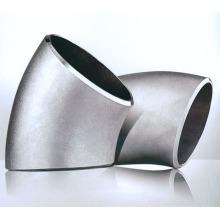 Codo de ButtWeld del radio corto de acero de carbono de 45 grados