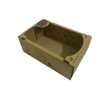 Caixas de presente de papelão marrom
