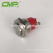 19-mm-Ein-Aus / Aus-Ein Vandalensicherer IP68-Drucktastenschalter