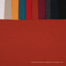2021 TR spandex 30sTR  plain dyed ponti roma fabric stretch cargo pants fabric