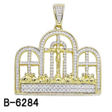 High Quality Fashion Jewelry Silver Religious Pendant