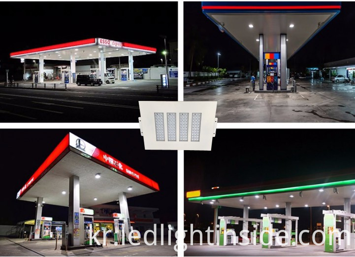 LED Gas Station Light Application