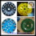 Rodas de taça de diamante para polimento de concreto e piso de resina epóxi