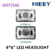 "4*6"" Super bright led headlight truck led headlamp for trailer use DOT approval led headlight"