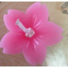 Handgemachte geschnitzte Blumenkerze Dekoration