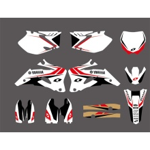 0008 New Style Yamaha GRAPHICS & BACKGROUNDS DECALS Stickers FOR YZ250F YZ450F  2006-2009