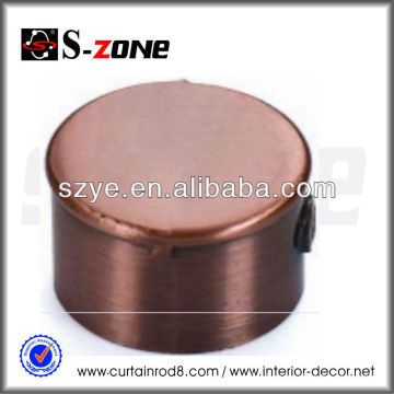 3/4' Antique copper curtain rod end caps, end caps for copper pipe
