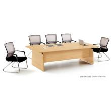 Top Selling 8 Person Moderne Konferenztisch mit Metall Beine (FOH-CT-E2412)