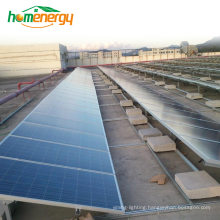 Commercial or Home Use Solar Power System Stainless Steel Material Solar Array Mounting System