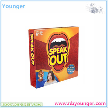 Speak out Game