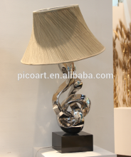 modern abstract lamp art design stainless steel new products for hotel decor