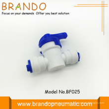 Ro Purifier White Pom Off On Hand Valve
