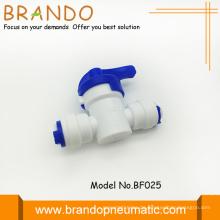 RO-Luftreiniger weiß Pom aus auf Handventil