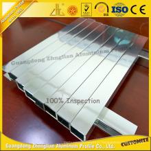 Extrusion polie brillante en aluminium professionnelle de fabricant pour des meubles