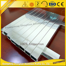 Professional Manufacturer Shiny Polished Aluminum Extrusion for furniture Bathroom