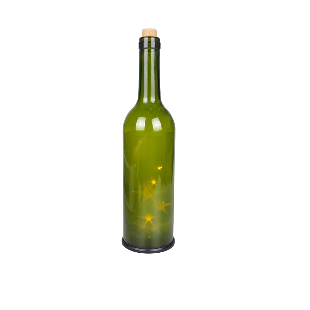 LED Light Glass Bottle