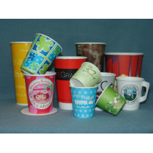 Copas de papel desechables Ice Cream Cup