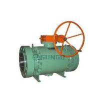 Anti-statis desain Trunnion Ball Valve