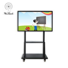55 inches touch panel with mobile stand