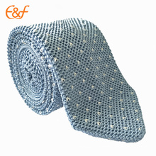 Cravate de cravate de cravate du nouveau classique 100% polyester des hommes