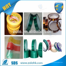 5PCS P50mm * 10M * 0.13mm Hochtemperaturbeständigkeit, elektrische Isolierung PTFE Teflon-Klebeband, fertigen Breiten-Schnitt Accepetable an