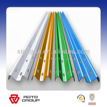 galvanized or pvc painting highway guardrail