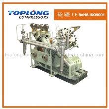 Compresor del diafragma Compresor del oxígeno Compresor del nitrógeno del impulsor Compresor del helio Compresor de alta presión del impulsor (Gv-15 / 4-150 Aprobación del CE)