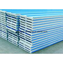 Leichte EPS-Zement-Sandwich-Trennwand-Wandverkleidung-Maschine / Ausrüstung für farbiges Stahlwand-Verkleidung