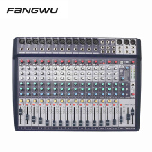Professional 18 Channels DSP Effect Audio Mixer With DAC Sound Card
