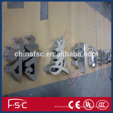 Best Selling Stainless Steel illuminated Sign Letters