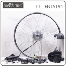 MOTORLIFE / OEM CE 36v 250w heißes elektrisches Fahrrad Umbausatz mit Geschwindigkeitssensor