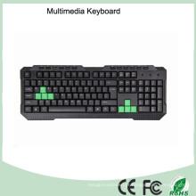 Grade um teclado de computador de jogos com fio com preço baixo de alta qualidade (KB-1688M-G)