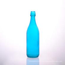 Управление безопасным бутылка синий сок